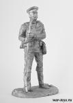 Рядовой РИА, 1914 г. - Оловянный солдатик. Чернение. Высота солдатика 54 мм