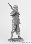 Вахмистр 1-го Енисейского казачьего полка, 1919 год - Оловянный солдатик. Чернение. Высота солдатика 54 мм