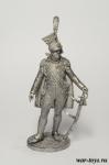 Генерал князь Понятовский, Польша. 1809-13 гг - Оловянный солдатик. Чернение. Высота солдатика 54 мм