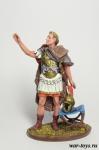 Император Август 1 в н.э. - Оловянный солдатик коллекционная роспись 54 мм. Все оловянные солдатики расписываются художником в ручную
