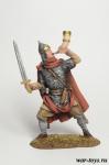 Знатный русский воин 10 век - Оловянный солдатик коллекционная роспись 54 мм. Все оловянные солдатики расписываются художником в ручную