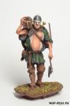 Расхититель 900 Г. Н. Э. - Оловянный солдатик коллекционная роспись 54 мм. Все оловянные солдатики расписываются художником в ручную