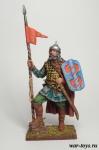Русский конный воин, 14 век - Оловянный солдатик коллекционная роспись 54 мм. Все оловянные солдатики расписываются художником в ручную