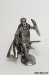 Рыцарь Тамплиер - Оловянный солдатик. Чернение. Высота солдатика 54 мм