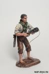Пират-абордажник - Оловянный солдатик коллекционная роспись 54 мм. Все оловянные солдатики расписываются художником в ручную