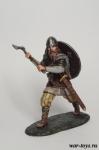 Викинг с топором - Оловянный солдатик коллекционная роспись 54 мм. Все оловянные солдатики расписываются художником в ручную