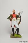 Полковник гвардейских драгун. Франция, 1808-14 гг. - Оловянный солдатик коллекционная роспись 54 мм. Все оловянные солдатики расписываются художником в ручную