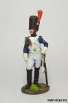 Генерал полка Конных гренадеров Имп. гвардии. Франция, 1807-14 - Оловянный солдатик коллекционная роспись 54 мм. Все оловянные солдатики расписываются художником в ручную