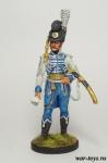 Офицер Конной Лейб-гвардии. Швеция, 1807 г. - Оловянный солдатик коллекционная роспись 54 мм. Все оловянные солдатики расписываются художником в ручную