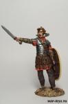 Римский Легионер, 169 г н.э. 60 мм - Оловянный солдатик коллекционная роспись 54 мм. Все оловянные солдатики расписываются художником в ручную