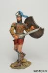 Троянская война Ахиллес - 13 в до н.э. - Оловянный солдатик коллекционная роспись 54 мм. Все оловянные солдатики расписываются художником в ручную