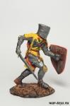 Французский Рыцарь, XV в. - Оловянный солдатик коллекционная роспись 54 мм. Все оловянные солдатики расписываются художником в ручную