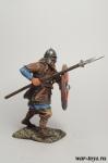 Викинг, IX-X вв. - Оловянный солдатик коллекционная роспись 54 мм. Все оловянные солдатики расписываются художником в ручную