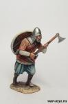 Викинг с двуручным топором, IX-X вв - Оловянный солдатик коллекционная роспись 54 мм. Все оловянные солдатики расписываются художником в ручную