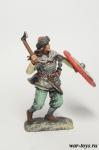 Валькирия, IX-X вв. 54 мм - Оловянный солдатик коллекционная роспись 54 мм. Все оловянные солдатики расписываются художником в ручную
