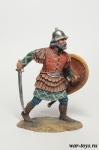 Византийский пехотинец, 13 век. - Оловянный солдатик коллекционная роспись 54 мм. Все оловянные солдатики расписываются художником в ручную