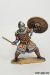 Варяг на службе Византии, 13 век. - Оловянный солдатик коллекционная роспись 54 мм. Все оловянные солдатики расписываются художником в ручную