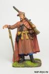 Украинский реестровый казак, 17 век - Оловянный солдатик коллекционная роспись 54 мм. Все оловянные солдатики расписываются художником в ручную