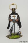 Гроссмейстер Тевтонского ордена, 13 век - Оловянный солдатик коллекционная роспись 54 мм. Все оловянные солдатики расписываются художником в ручную