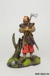 Германский Воин - Оловянный солдатик коллекционная роспись 54 мм. Все оловянные солдатики расписываются художником в ручную