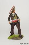 Мексиканский стрелок, 19 в. - Оловянный солдатик коллекционная роспись 54 мм. Все оловянные солдатики расписываются художником в ручную