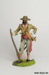 Буканьер, Порртобелло, 1668 - Оловянный солдатик коллекционная роспись 54 мм. Все оловянные солдатики расписываются художником в ручную