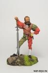 Ландскнехт - Оловянный солдатик коллекционная роспись 54 мм. Все оловянные солдатики расписываются художником в ручную