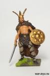 Верцингеторикс 52 до н.э. - Оловянный солдатик коллекционная роспись 54 мм. Все оловянные солдатики расписываются художником в ручную