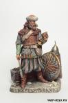 Древняя Русь. Дружинник с добычей 11-12 век