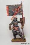 Рыцарь Ордена Калатравы. Испания, 13 век - Оловянный солдатик коллекционная роспись 54 мм. Все оловянные солдатики расписываются художником в ручную