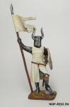 Крестоносцы. Рыцарь Тевтонского ордена 12 век - Оловянный солдатик коллекционная роспись 54 мм. Все оловянные солдатики расписываются художником в ручную