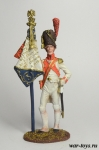 Орлоносец 3-го полка Пеших Гренадер. Франция, 1812 г. - Оловянный солдатик коллекционная роспись 54 мм. Все оловянные солдатики расписываются художником в ручную