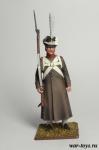 Регулярная пехота 1812-14 гг. Унтерофицер строю - Оловянный солдатик коллекционная роспись 54 мм. Все оловянные солдатики расписываются художником в ручную