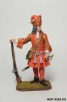 Обер-офицер гренадерских полков армейской пехоты 1710 - Оловянный солдатик коллекционная роспись 54 мм. Все оловянные солдатики расписываются художником в ручную