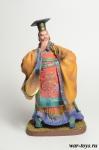 Китайский император Цинь Ши Хуан - Оловянный солдатик коллекционная роспись 54 мм. Все оловянные солдатики расписываются художником в ручную