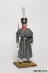 Регулярная пехота 1812-14 гг. Обер-офицер в шеренге - Оловянный солдатик коллекционная роспись 54 мм. Все оловянные солдатики расписываются художником в ручную