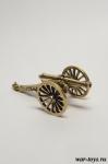 Пушка (Серия Французкая пехота 19 века) 40 мм - Военно-истроическая миниатюра. Бронза 40 мм