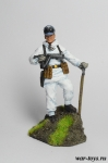 Горный стрелок. Германия - Оловянный солдатик коллекционная роспись 54 мм. Все оловянные солдатики расписываются художником в ручную