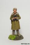 Панфилов И.В.,генерал-майор, 1941 г - Оловянный солдатик коллекционная роспись 54 мм. Все оловянные солдатики расписываются художником в ручную