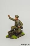 Мальчик - чистильщик обуви, 1944 г. - Оловянный солдатик коллекционная роспись 54 мм. Все оловянные солдатики расписываются художником в ручную