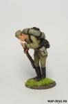 Рядовой РККА с папиросой - Оловянный солдатик коллекционная роспись 54 мм. Все оловянные солдатики расписываются художником в ручную