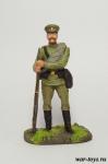 Рядовой РИА, 1914 г. - Оловянный солдатик коллекционная роспись 54 мм. Все оловянные солдатики расписываются художником в ручную