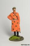 Офицер Штаба Азиатской конной дивизии, 1919 г. - Оловянный солдатик коллекционная роспись 54 мм. Все оловянные солдатики расписываются художником в ручную