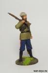 Вахмистр 1-го Енисейского казачьего полка, 1919 год - Оловянный солдатик коллекционная роспись 54 мм. Все оловянные солдатики расписываются художником в ручную