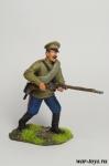 Рядовой Русской Армии - Оловянный солдатик коллекционная роспись 54 мм. Все оловянные солдатики расписываются художником в ручную