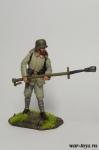 Немецкий огнеметчик, 1916 г. - Оловянный солдатик коллекционная роспись 54 мм. Все оловянные солдатики расписываются художником в ручную