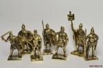 Набор бронзовых солдатиков - Скифы 40 мм