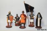 Набор оловянных солдатиков - Древняя Русь