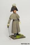 Регулярная пехота 1812-14 гг. Обер-офицер - Оловянный солдатик коллекционная роспись 54 мм. Все оловянные солдатики расписываются художником в ручную