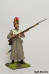 Регулярная пехота 1812-14 гг. Рядовой в шеренге - Оловянный солдатик коллекционная роспись 54 мм. Все оловянные солдатики расписываются художником в ручную